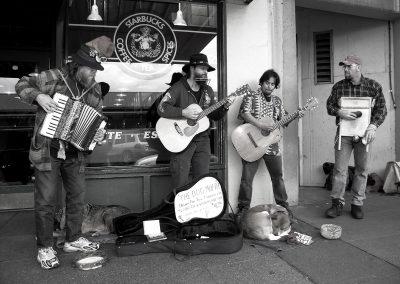 The Dog Mafia at Original Starbucks