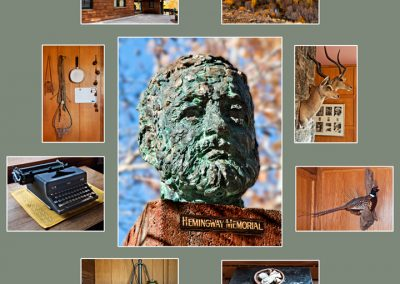 Hemingway Home Collage