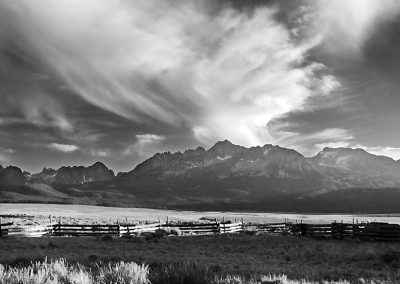 Sawtooths in the Afternoon